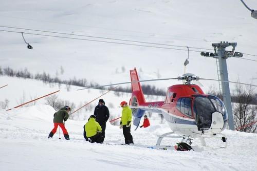 Úraz na lyžích